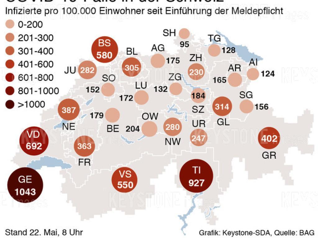 Agenzie Lavoro Canton Grigioni coronavirus: ufsp, 18 nuovi casi in svizzera - swi swissinfo.ch