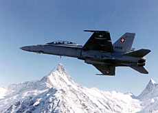 Swiss fighter jets will provide cover for Turin