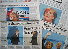 Schröder's loss was not Merkel's gain