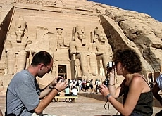 Unesco helped to save the Abu Simbel monument in Egypt