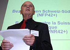 "Georg Kreis, president of the foundation responsible for ""Relations between Switzerland and South Africa"""