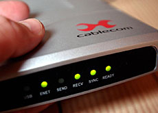 Restructuring is taking place at Cablecom, Switzerland's largest cable operator