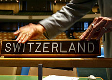 Switzerland joined the UN in September 2002