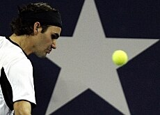Federer's star faded in the Masters Cup final