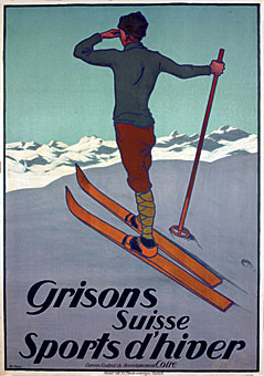 スイス観光局のレトロなポスター...