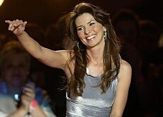 Shania Twain is one of a number of famous faces who have settled in Switzerland