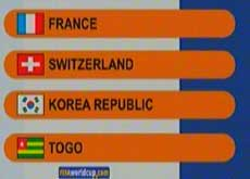 The draw for Germany 2006 speaks for itself