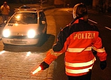 Of 6,000 Swiss drivers, 200 were under the influence of alcohol and 150 under the influence of drugs