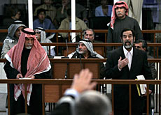Saddam's trial has been very high-profile