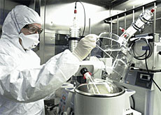 A clean room helps in the making of sophisticated products (Lonza)