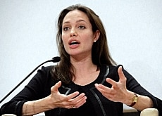Angelina Jolie all'Open Forum di Davos