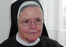 Mother Superior Edelina Uhr is proud of the nuns' pioneering work