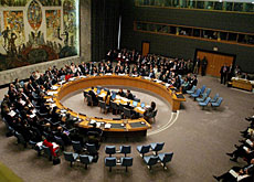 The veto powers of security council members could be limited