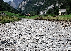 Over-harnessing of water upstream is thought to dry up rivers and harm plants and wildlife (Pro Natura)
