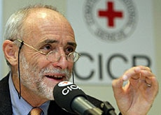 The ICRC's Jakob Kellenberger is not giving up against Washington