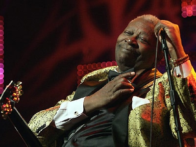 'I gonna miss you', dit BB King au public...