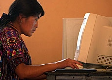 Extending internet access to poorer nations is a key issue at the conference