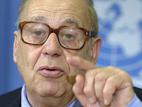Ziegler has also served as UN Special Rapporteur on the Right to Food