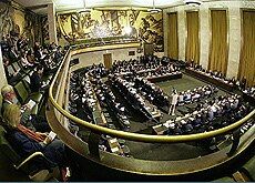 The Iran nuclear issue was discussed in March at a United Nations Conference on Disarmament meeting in Geneva