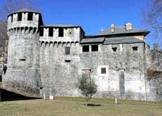 The Visconti Castle bastion may have been the work of Leonardo da Vinci