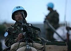 Switzerland has taken part in few international peacekeeping missions