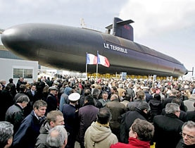"The French recently celebrated the launch of a new nuclear-armed submarine, ""Le Terrible"". Switzerland has vowed to promote disarmament"
