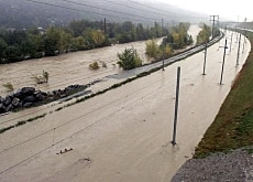 Flooding has been a regular occurrence in Switzerland in recent years: the Rhone overflowing in 2000