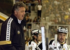 Lugano's trainer, Ivano Zanatta (left) has lost most of his star players