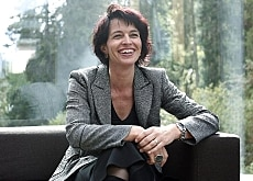 Leuthard was visibly relaxed before explaining her goals in Laax