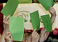 The Green Party has been garnering more and more votes recently