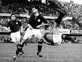 Erinnerungen An Die Fussball Wm 1954 In Der Schweiz Swi