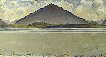 "The ""Thunersee mit Niesen"" is up for sale in New York (Christie's)"