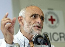 Kellenberger says acceptance of the ICRC by all parties is crucial