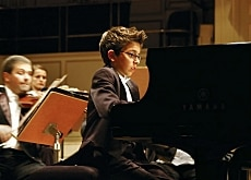 Hitting the right notes: piano prodigy Teo Gheorghiu as piano prodigy Vitus in one of the most successful Swiss films of 2006