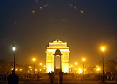 Das India Gate in Neu Delhi. (Bild: Reuters)