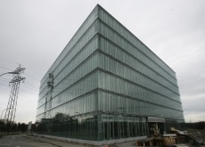 "Kraft is moving its European headquarters to this building,""Light Cube"", in Opfikon near Zurich"