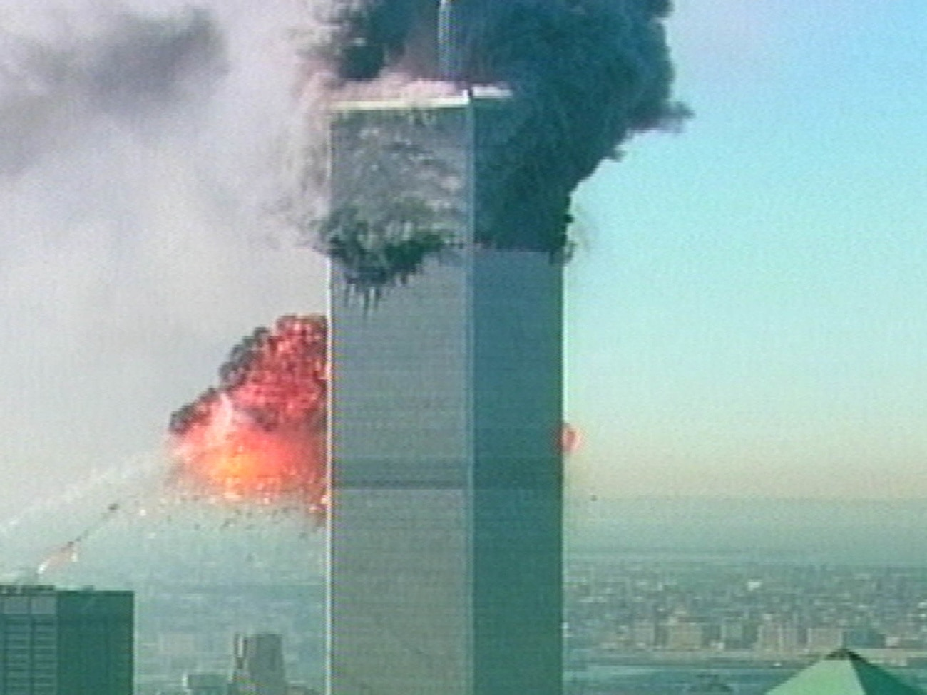 The Twin Towers were destroyed in the September 11, 2001 terrorist attacks