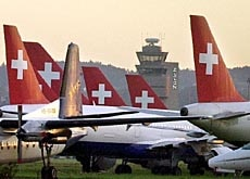 Swiss pride was grounded along with the fleet last October
