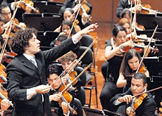 Gustavo Dudamel will conduct his Simón Bolívar Youth Orchestra at Lucerne (courtesy of Lucerne Easter Festival)