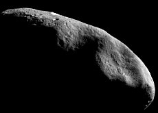 Cruising through space: Eros, the second-largest near-Earth asteroid