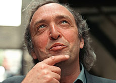 "Michel Ritter en 2003. Au service d'une culture ""pas simplement nationale mais critique, exigeante et participative""."