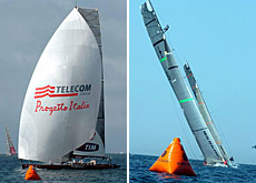 Luna Rossa ou Team New Zealand? Alinghi attend!