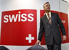 Christoph Franz, CEO of Swiss, says Zurich airport's hub status is key