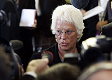 Del Ponte is not satisfied with Serbia's cooperation