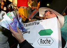 Tamiflu sales fall but Roche is still going strong