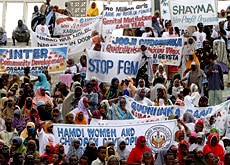 Unicef Switzerland has long been calling for a ban on female genital mutilation (FGM)