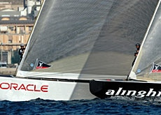 Alinghi has won the world's premier sailing prize twice
