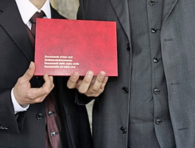 In January 2007, a new law introduced registered partnerships for same-sex couples in Switzerland