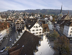 Zug in central Switzerland is a favourite location for foreign holding firms