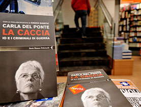 Del Ponte's memoirs detailing her eight years as war crimes prosecutor are making waves